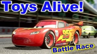 Cars 2: The video Game - Lightning McQueen - Buckingham Sprint Battle Race