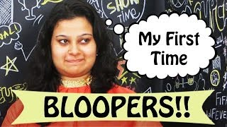 My Funny First Time On YouTube Bloopers Video