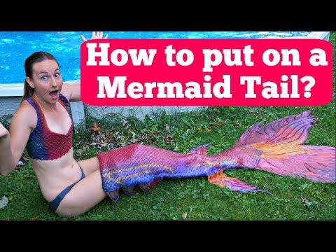How to Put On a Silicone Mermaid Tail Like a Pro