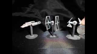 Unbelievably Tiny Star Wars and Transformers Papercraft