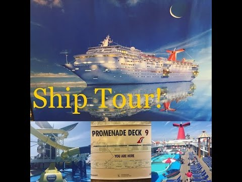 Carnival Imagination Tour! Carnival Cruise Line! Cruise Ship Tour and Review!