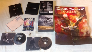 Unboxing David Gilmour Rattle that lock Deluxe edition