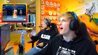 Logan Paul fortnite Full 1 hour Gameplay stream in real life