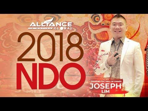 New 2018 NDO by Joseph Lim AIM Global Hall of Famer