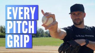 Pitch Grips: How t๐ Throw a Curveball, Slider, Changeup, Sinker & Cutter