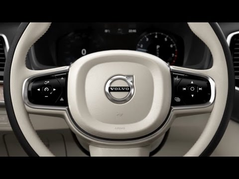 2015 Volvo XC90 - Steering wheel buttons - YouTube