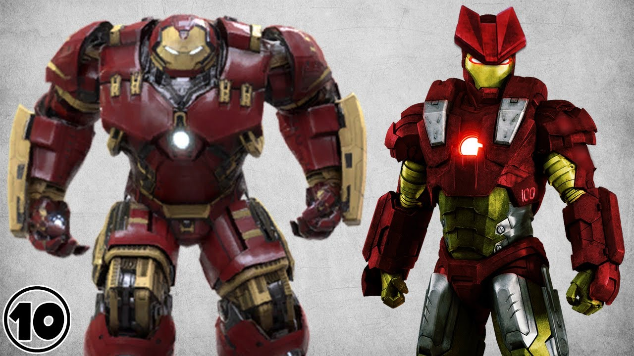Top 10 Alternate Iron Man Suits Doovi