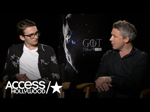 Isaac Hempstead Wright & Aidan Gillen On The Success Of 'Game Of Thrones'