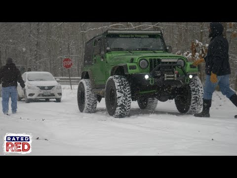 Need a 4x4 Rescue? Call on Topless in Tennessee!