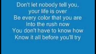 Aly & Aj - Rush with Lyrics