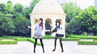Gambar cover Real Person Dance with MMD ~ [Drop pop candy]