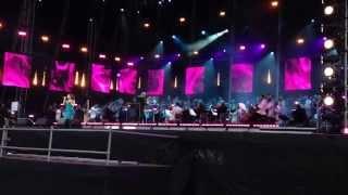 Alexandra Burke - Hallelujah @ Glasgow Green BBC Proms In The Park
