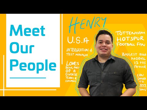 Meet Our People - Henry from the USA - Thales