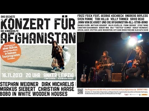 Stephan Weidner - Vergissmeindoch - Konzert für Afghanistan 2013