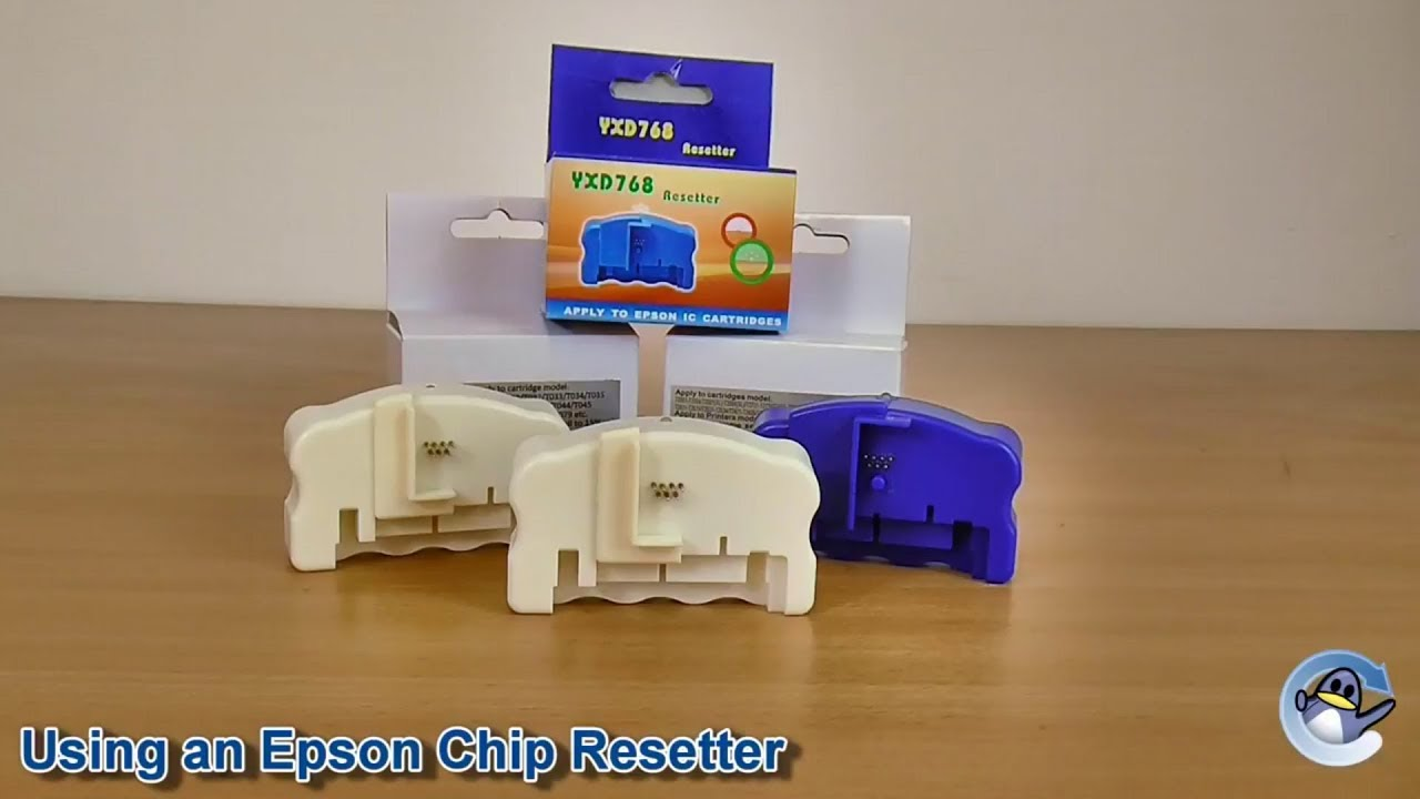 How to Use an Epson Chip Resetter