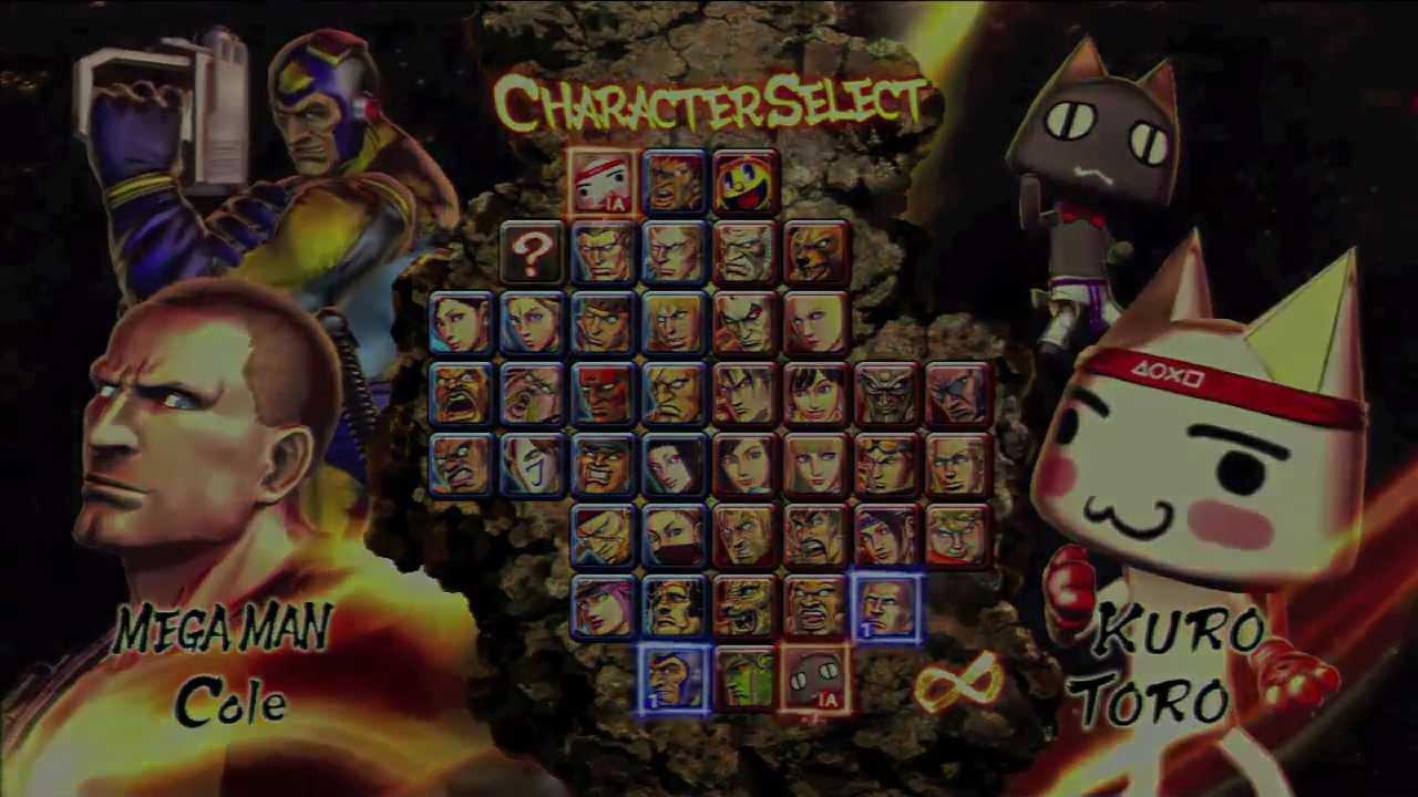 Street Fighter X Tekken - Personagens Exclusivos no PS3 e PROMOCAO (pt BR)