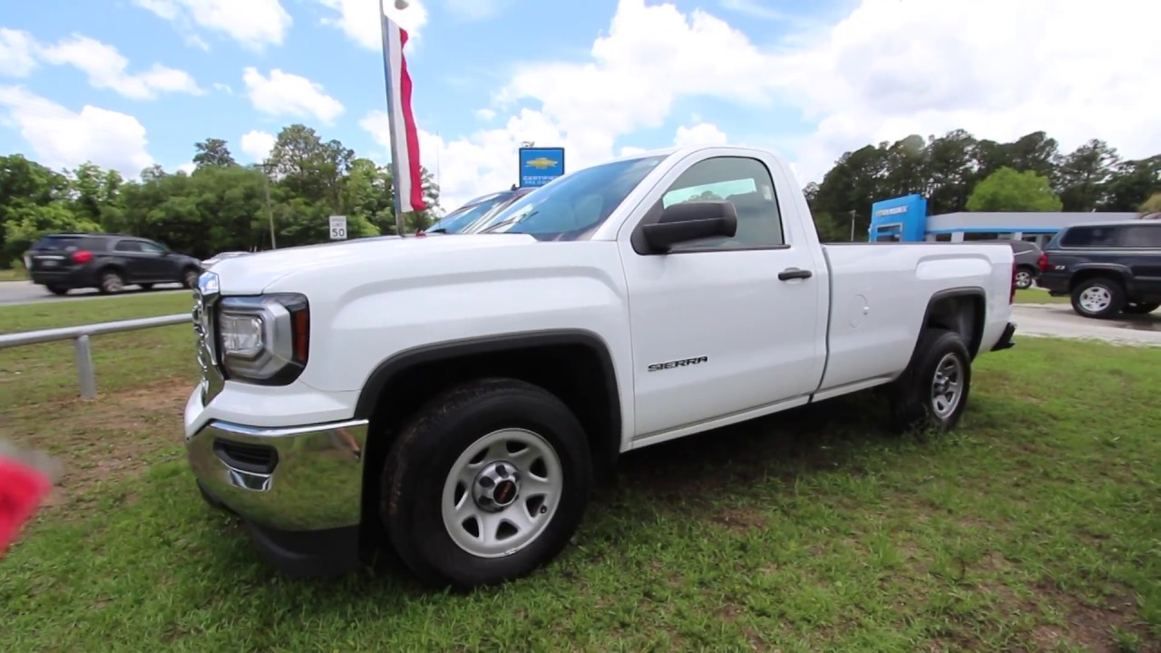 2017 Gmc Sierra Regular Cab Work Truck Review For Marchant Chevy May 2018