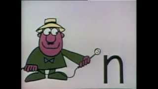 classic sesame street a report on the letter n