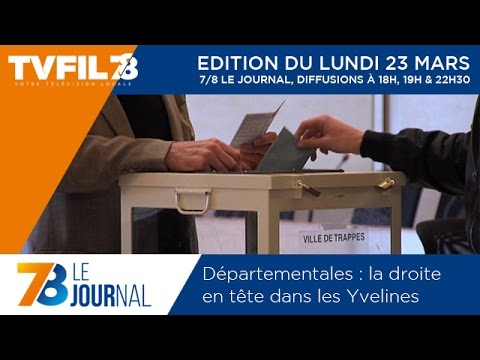 7/8 Le Journal – Edition du lundi 23 mars 2015