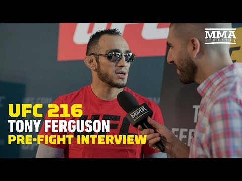 Emotional Tony Ferguson 'Surprised' UFC 216 Will Proceed Following Las Vegas Shooting - MMA Fighting