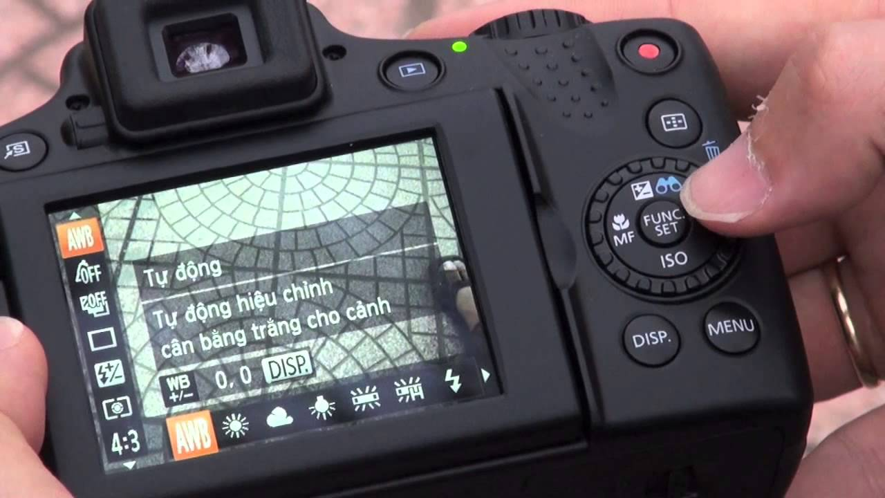 [Cơ bản] Hướng dẫn điều chỉnh thông số máy ảnh compact Canon - YouTube