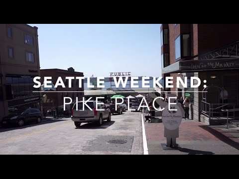 Seattle Hot Tourist Destination: Pike Place Market Eats