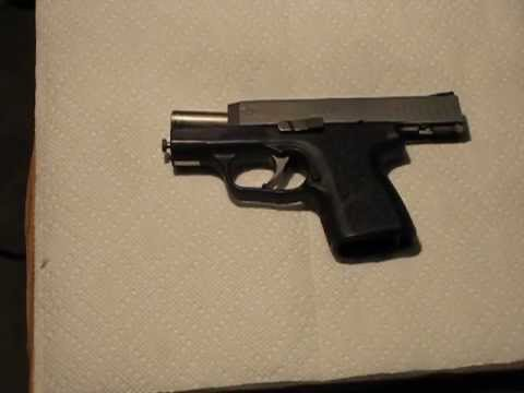 Kahr CM9 trigger technique