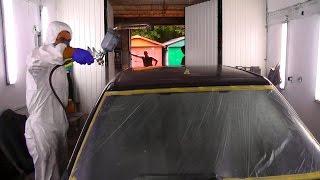 Как покрасить крышу авто. Без подставок(Как покрасить крышу. На что надо обратить внимание как правильно положить слои и как удобнее дотянуться..., 2014-08-31T00:32:45.000Z)