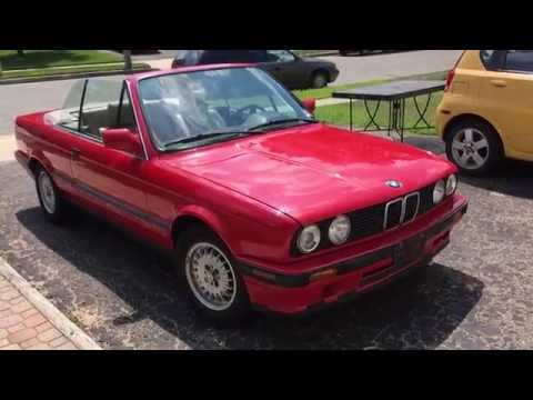 1992 bmw 318i e30 convertible for sale youtube. Black Bedroom Furniture Sets. Home Design Ideas