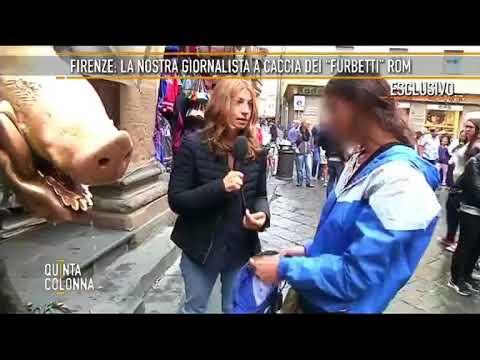 Le nuove tecniche di furto dei rom a Firenze