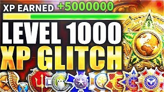 "COD WW2 ""XP GLITCH"" UNLOCKS LEVEL 1000 in 2 DAYS! (Call Of Duty WW2 LEVEL 1000 GLITCH)"