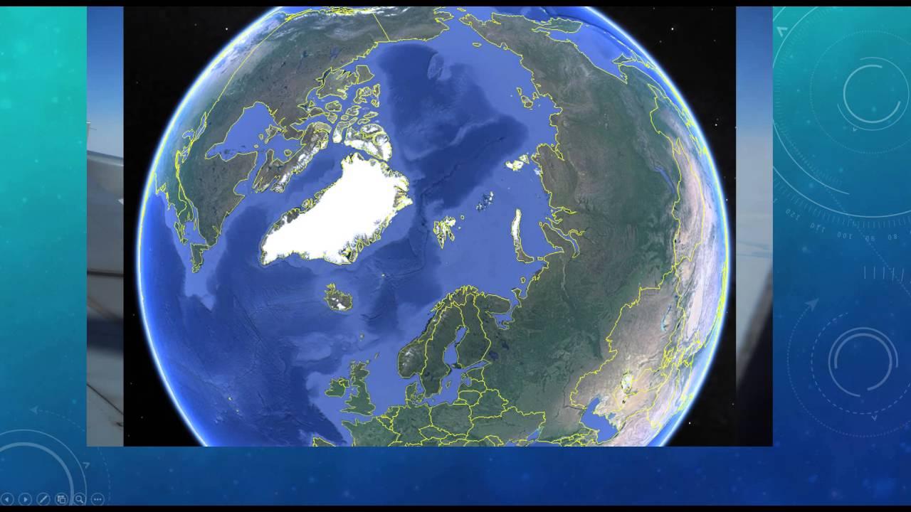 Polarflug AB9669 - Loch 🕳 am Nordpol??? - YouTube