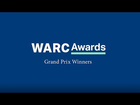 WARC Awards 2018 Grand Prix winners