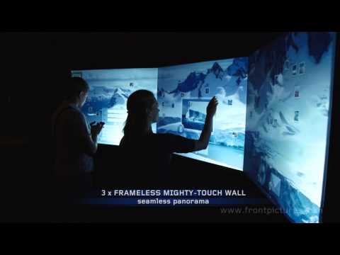 Antarctic Syndrome on Mighty-Touch™ Wall
