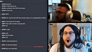 APHROMOO LEAKS HIS MESSAGES ABOUT TSM | WHAT IMAQTPIE'S TEAM GONNA DO? | FROGGEN | LOL MOMENTS