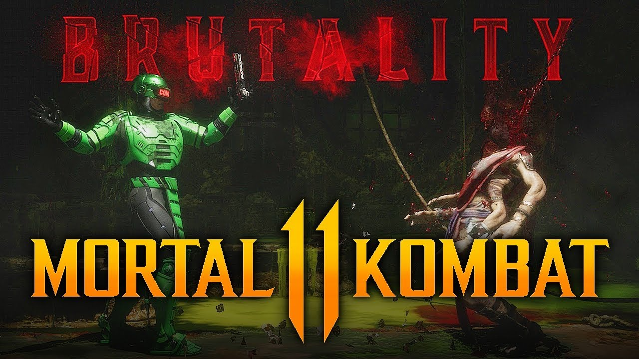 "Download Mortal Kombat 11 - NEW RoboCop ""Crotch Shot"" Brutality Alternate Versions!"