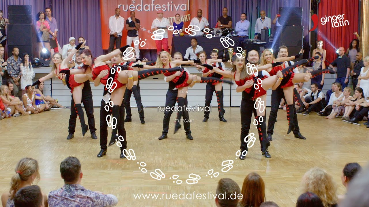 how to dance rueda de casino