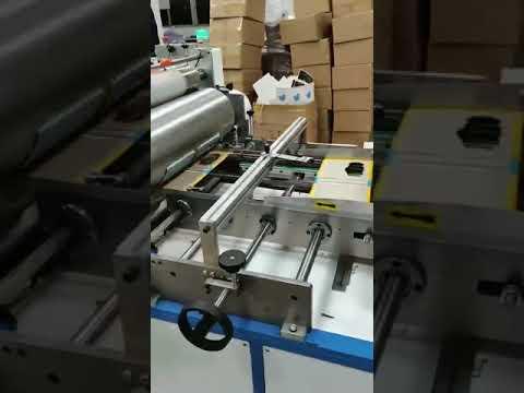 Hardcover board books grey board auto sticking machine by Shenzhen Colorfine Printing