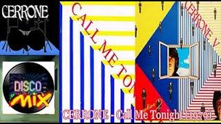 Cerrone - Call Me Tonight (New Inedit Disco Mix Version Remix) VP Dj Duck