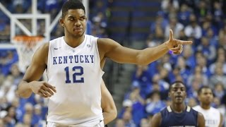 Karl-Anthony Towns College Highlights