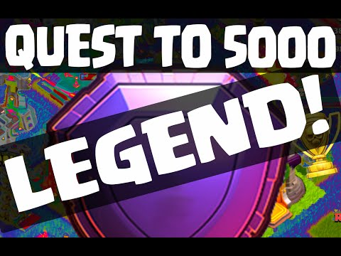 Clash of Clans ♦ LEGEND LEAGUE ♦ Quest to 5000 Trophies - COMPLETE! ♦ CoC ♦