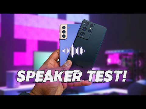 Galaxy S21 Ultra vs Galaxy S21 vs iPhone 12 Pro Max | Speaker Test!
