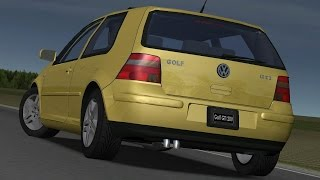 Volkswagen Golf IV GTI drive (Links) - Racer: free game