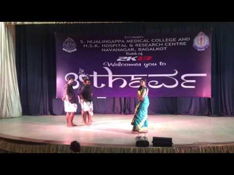 Premam theme dance by SNMC mallus.