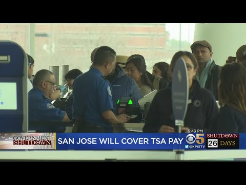 San Jose Approves Payments To Airport Workers During Government Shutdown