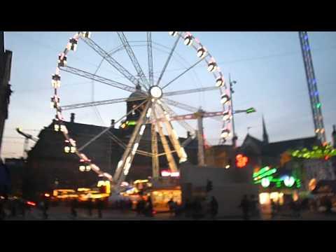 Amsterdam Dam Square Easter fair
