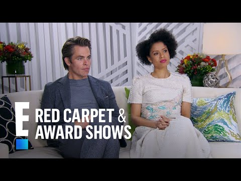 Chris Pine & Gugu MbathaRaw Reminisce on High School  E! Live from the Red Carpet