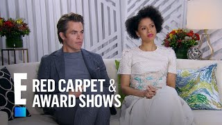 Chris Pine & Gugu Mbatha-Raw Reminisce on High School | E! Live from the Red Carpet