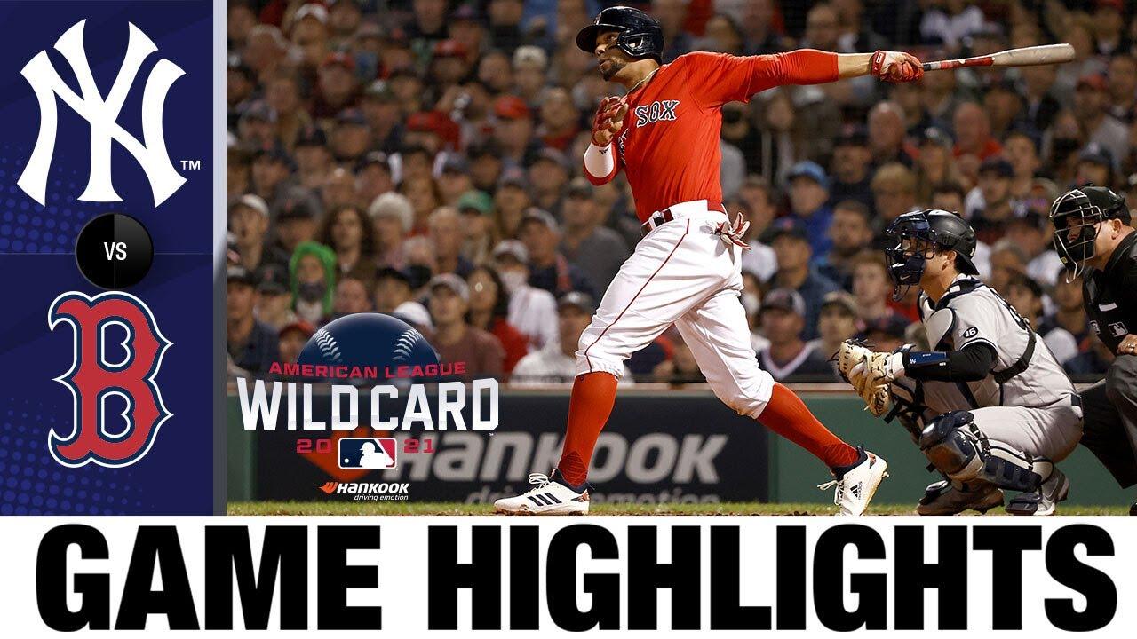 Download Yankees vs. Red Sox AL Wild Card Game Highlights (10/5/21)   MLB Highlights
