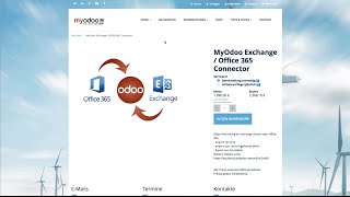 MyOdoo Modul Exchange / Office365 Connector